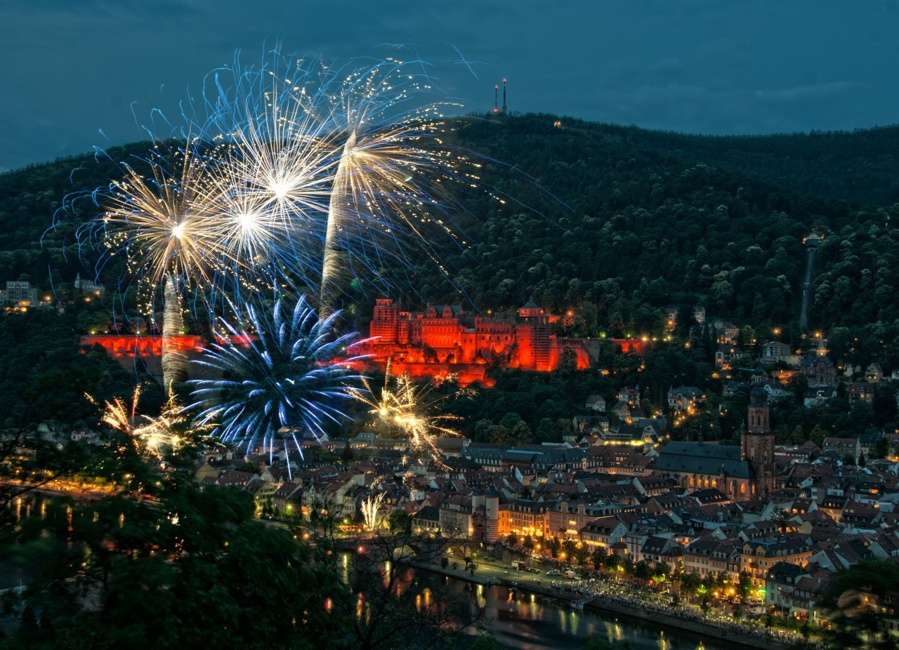Heidelberger Schlossbeleuchtung